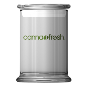 cannafresh glass jar
