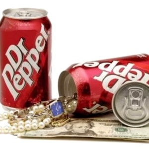 Dr Pepper Soda Can Safe